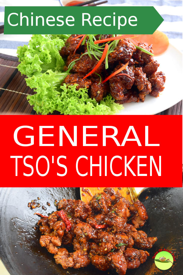 This General Tso's Chicken recipe 左宗棠鸡 is one of the most popular American Chinese cuisine. This is the step by step guide how to make it.