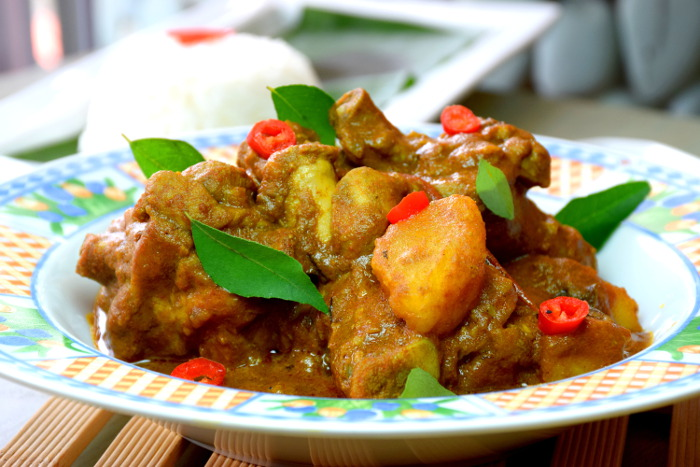 authentic curry chicken