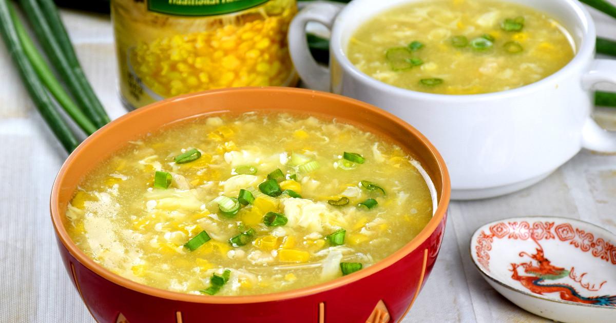 Easy Chicken Corn Soup Recipe