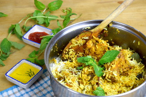 Chicken biryani recipe