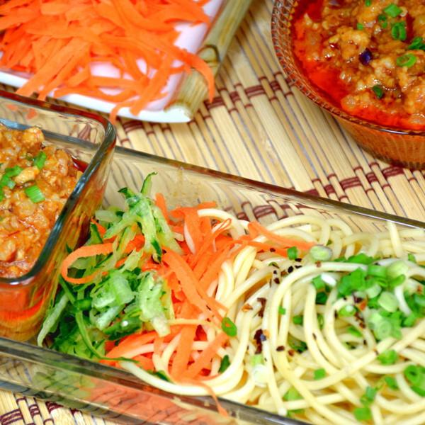 easy pasta sauce zhajiangmian