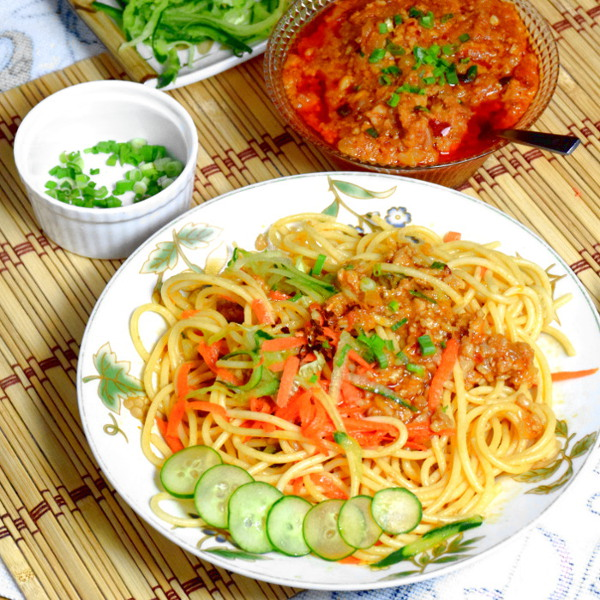 easy pasta fried sauce noodles style