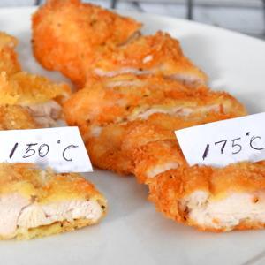 chicken katsu temperature