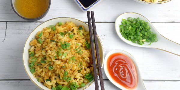 How to cook the best Chinese fried rice with only six ingredients