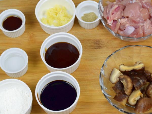 Loh Mai Gai ingredients