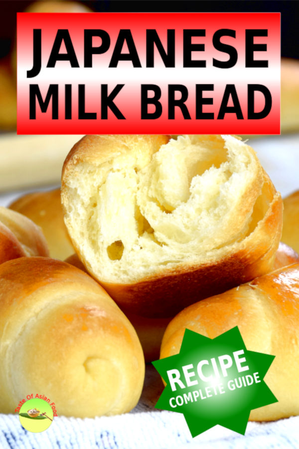 I will show you the softest, lightest and fluffiest Japanese milk bread recipe.