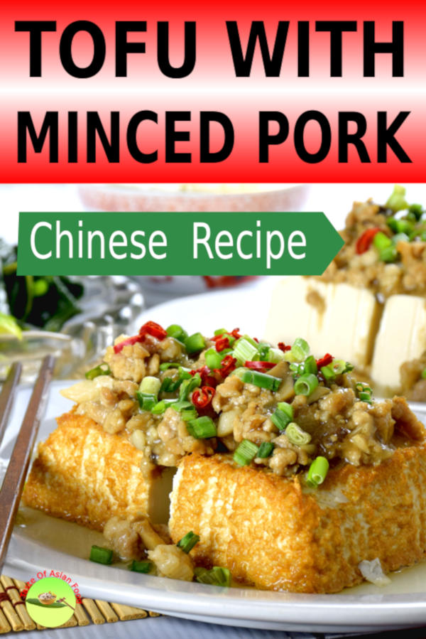 Tofu with minced pork is one home-cooked dish that served in every Chinese household. Follow this recipe, and you will be able to enjoy the best tofu recipe at your comfy home.