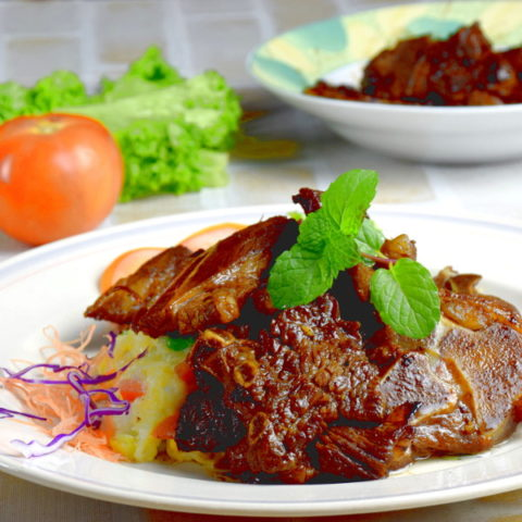 Lamb Cutlets (Chinese style)