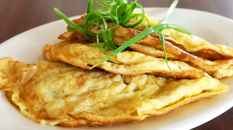 Cantonese style savory omelet