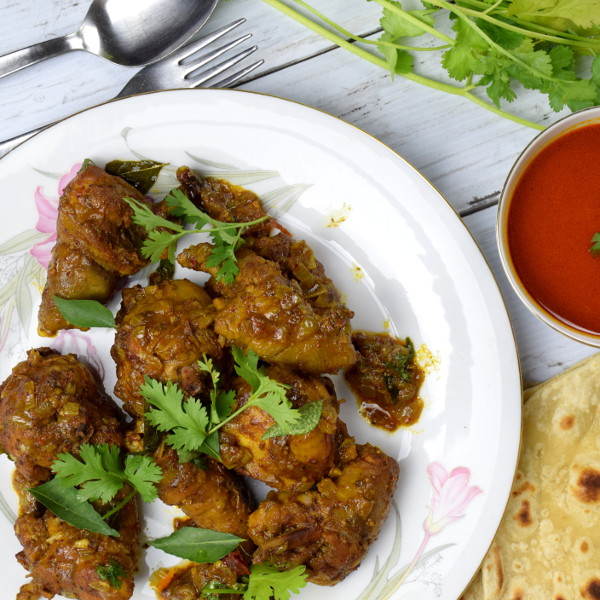 Chicken Varuval recipe