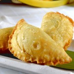 Malaysian style spiral curry puffs