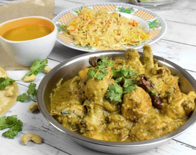 authentic korma chicken recipe