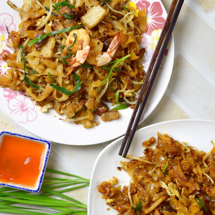 How to cook Char Kuey Teow