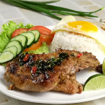 The lemongrass Vietnamese  pork chop recipe
