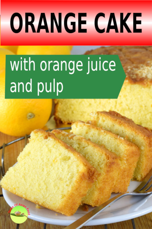 I started baking orange cake as a hobby a decade ago, which eventually becomes a favorite item on the menu in our restaurant. I am happy to share with you how to make my delightful orange cakes, which sells. This recipe is a derivation of the pound cake, make with only pure orange juice and zests.