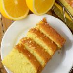 orange cake (pound cake)