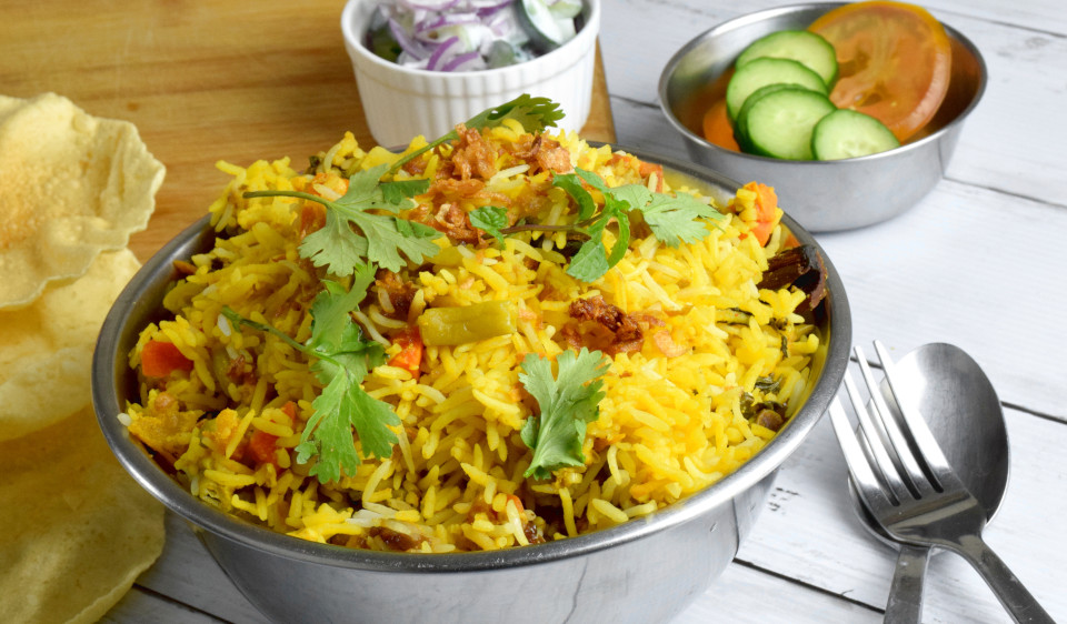 Vegetable Biryani – How to cook in three simple steps