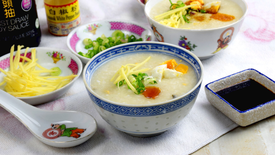 Rice porridge – How to cook Cantonese porridge (the traditional way)