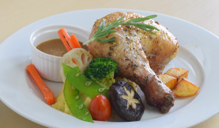 Roast chicken thighs recipe
