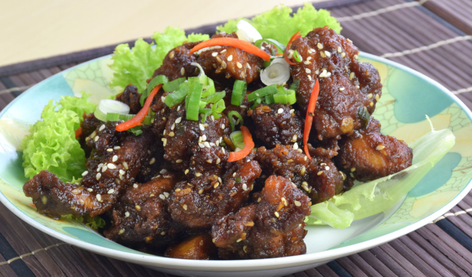 Sesame Chicken with honey – How to cook step by step