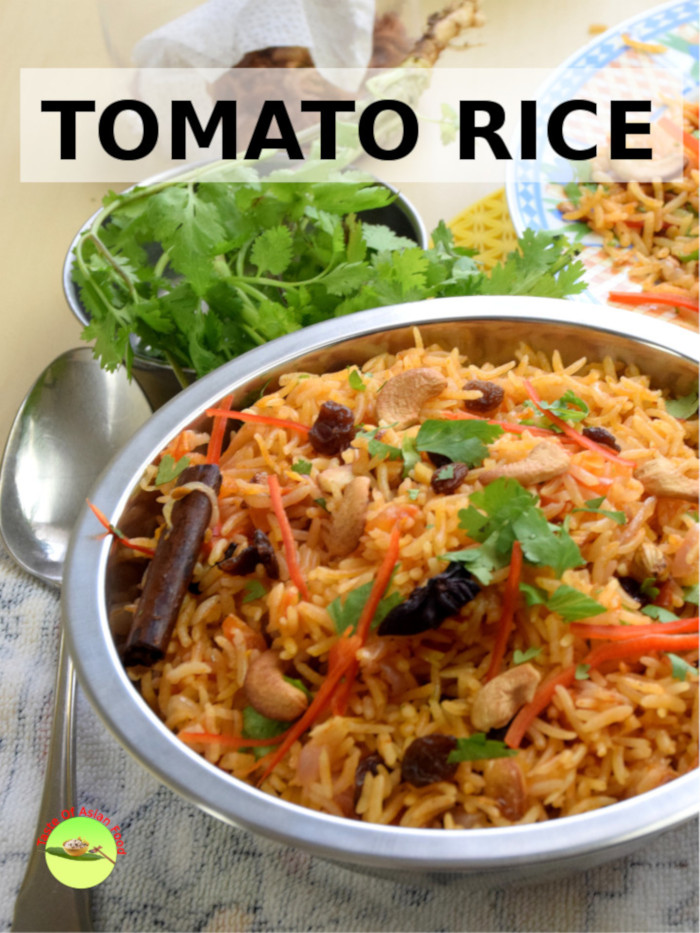 Malaysian tomato rice