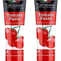 Tuscanini Tomato Paste Tube, 7.5oz (2 Pack) Made with Premium Italian Tomatoes