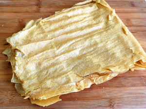 bean curd sheet buddha's delight