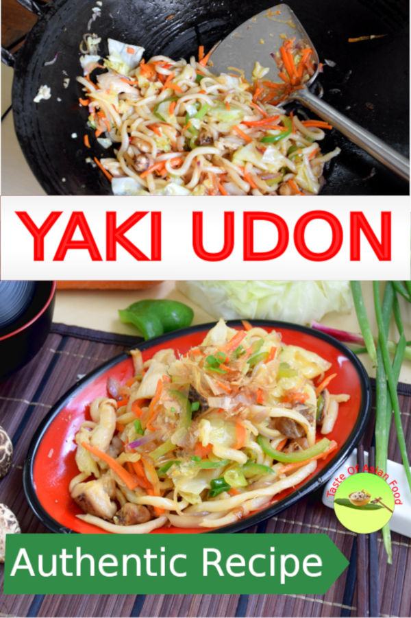 You can prepare yaki udon (焼きうどん) in just twenty minutes. Here is the step by step instruction how to make it.
