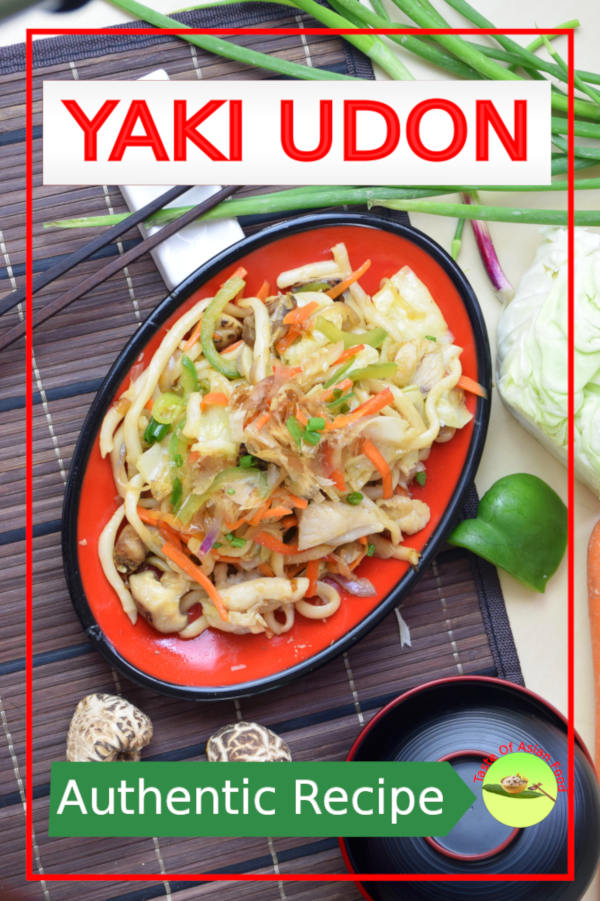 This article will show you how to cook yaki udon, the Japanese fried noodles with a few simple ingredients available in your refrigerator.