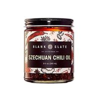 Blank Slate Kitchen Szechuan Chili Oil | 8 ounce | no MSG, no preservatives, non-GMO