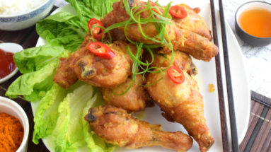 Easy fried chicken recipe Malaysian style. Prepare in just 20 minutes.