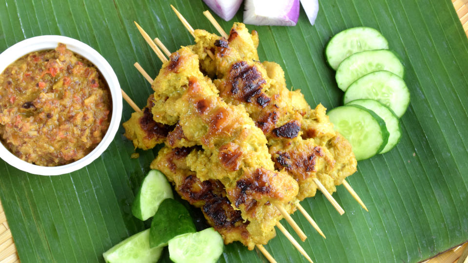 How to prepare chicken satay, the authentic way