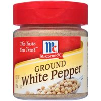 McCormick White Pepper, Ground, 1 OZ