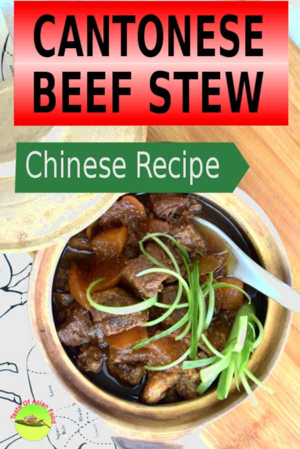 The most suitable cut for this Chinese beef stew is the beef brisket and tendon. They are relatively tough but very flavorful, which is ideal for stewing. Other cuts like chucks and rump can be used, but brisket contains layers of fats in between the lean meat which works best for slow cooking.