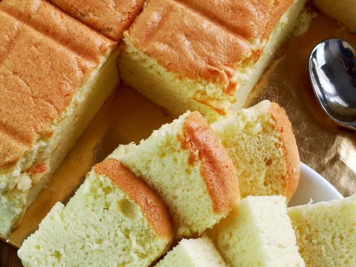 Outstanding Japanese Sponge Cake How To Make The Most Cottony And Bouncy Cake Funny Birthday Cards Online Aboleapandamsfinfo