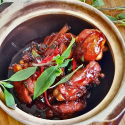 Three cups chicken- How to cook the authentic way