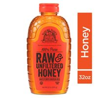 Nature Nate's 100% Pure Raw & Unfiltered Organic Honey, 32 oz