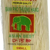 Asian Best Premium Rice Stick Noodle, 16 oz (3 Pack)