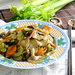 Mushroom stir fry - How to cook in 30 mins (Easy recipe)