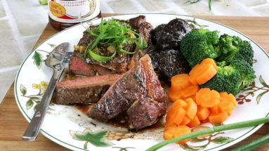 Chinese pepper steak featured image