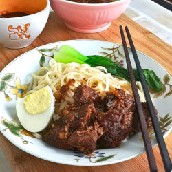 Taiwanese Beef Noodle Recipe
