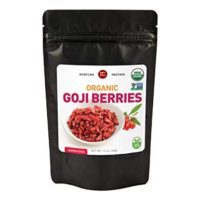 Premium quality organic goji berry, 12 oz - Perfect for Baking, Teas, Soup, Trail Mixes