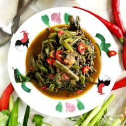 Stir-fry Belacan with Kangkung Recipe