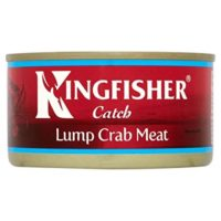 Kingfisher Whole Lump Crab Meat in Brine (170g)