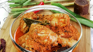 Chicken rendang featured image