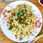 Chinese sausage fried rice thumbnail