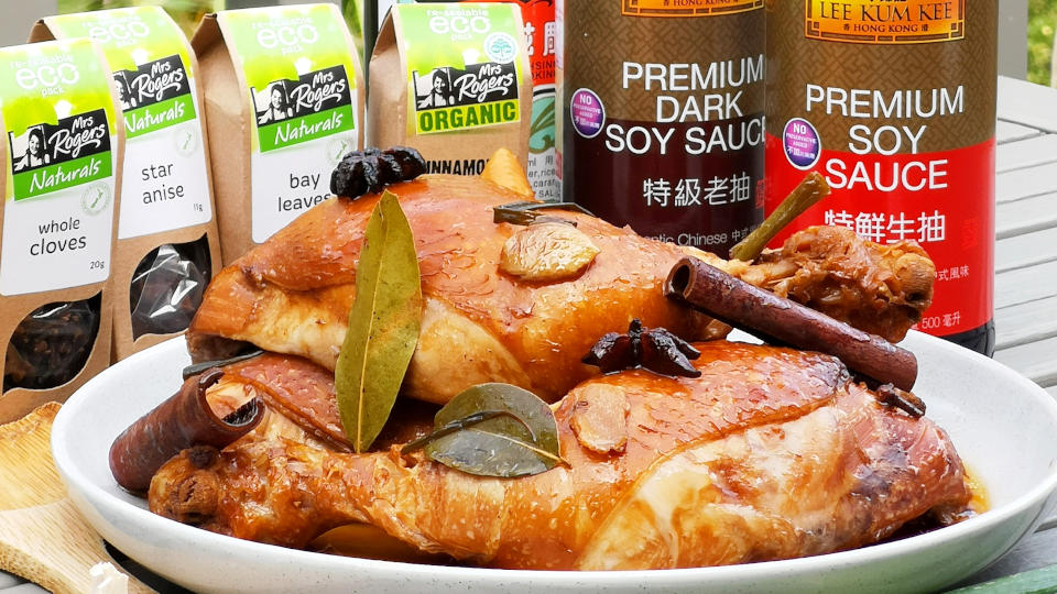 Soy Sauce Chicken – How to cook in four easy steps