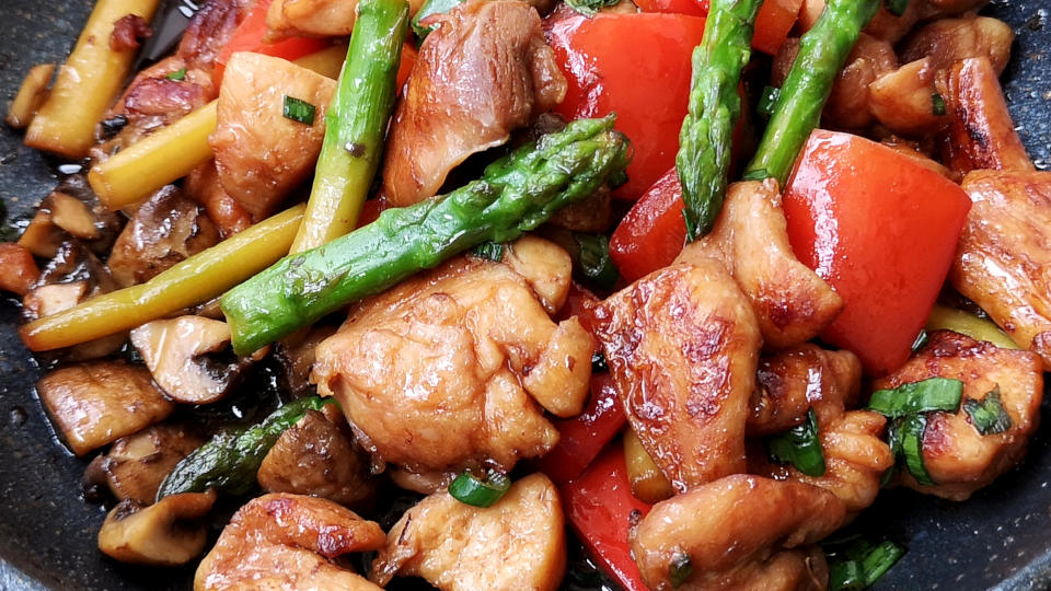 Teriyaki Chicken Stir-fry How To Prepare In 30 Minutes