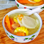 Chinese vegetable soup thumbnail