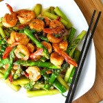 shrimp and asparagus stir fry thumbnail